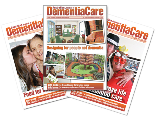 Subscribe to the Australian Journal of Dementia Care (AJDC)