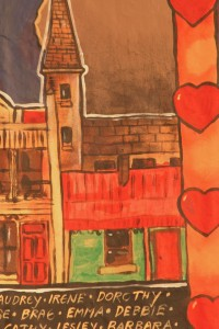 Nell's House: artwork by a woman with dementia.