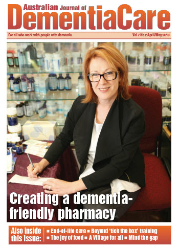 Australian Journal of Dementia Care - April/May 2018