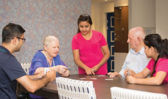 Dementia Training Australia is working with aged care provider Scalabrini to provide a Tailored Training Package, including training for staff working at its new care community for people with dementia, The Village, in Sydney.